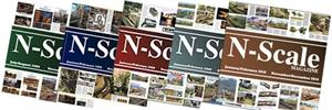THT N Scale 5 Magazine Bundle 1