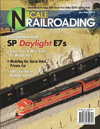 THT N Scale RR Bundle 2 - 4 issues from 2013