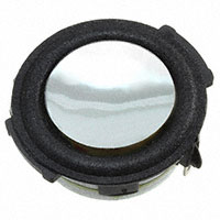 "Speaker 1.22"" Diameter High Bass Round Frame 4 ohm 3 Watt"