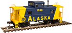 50 00 3318 CENTER Cupola Caboose - Alaska 1070 N Scale