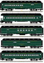 50 003 827 - Pre-Order ETA 1st Qtr - 2018 Chesapeake & Ohio 5 car set