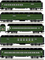 50 003 828 Lackawanna 5 car set