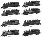 N Scale 2 truck Shay ATL
