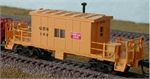 N Scale Transfer Caboose