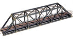 1820 - N Gauge 150ft. Kit Modern Portal Bridge with walkways - N Scale