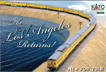 106-087 **Pre-Order ETA 8/2018*** Union Pacific - City of Los Angeles 11-Car Passenger Set (N Scale)