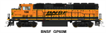 FVM GP60M BNSF 100 Wedge Paint