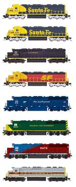 IRC N Scale SD45-2