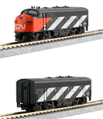 N Scale F7 from Kato