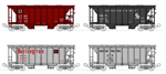 106-4700 **pre-order eta 11/2019** ACF Covered Hopper 8-Car Set
