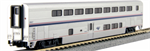 156-0957 Superliner II Transition Sleeper Amtrak Phase VI #39041 - N Scale
