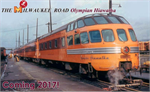 106-082 Milwaukee Road Olympian Hiawatha 9 car passenger set