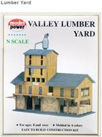 Lumber Yard N Scale