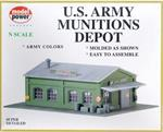 1574 Army Depot - Kit - N Scale Model Power
