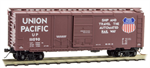 022 30 191 Box Car - Union Pacific True-Scale coupler Conversion Car