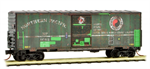 Micro-Trains 024 44 400 Weathered Northern Pacific N Scale