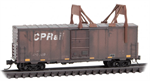 024 44 460 Graffiti - CP Rail Box Car with Ice Breakers - N Scale