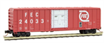 027 00 420 50' rib side box car Florida East Coast