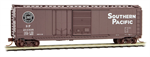 033 00 190 0' standard box car with plug & sliding door - Southern Pacific 211305 - N Scale