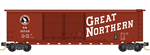 034 00 420 50' Standard boxcar Great Northern #35729 (N Scale)