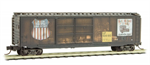 034 44 090 50' Weathered standard box car - Union Pacific