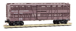 035 00 300 40' despatch stock car - Swift Live Stock Express SLSX 72221 - N Scale