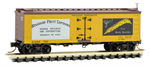 058 00 566 36 wood-sheathed ice reefer - Standard Fruit Company 7201 - N Scale