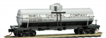 065 00 922 39' single dome tank car - Shell Oil 1006 - N Scale