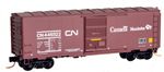 MicroTrains 073 00 160 40' standard box car CN