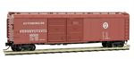 079 00 010 50' wagon top box car with double door - Pennsylvania