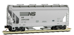 092 00 240 two-bay ACF covered hopper - Norfolk Southern 294298
