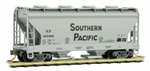 092 00 362 2-Bay Covered Hopper - Southern Pacific 490394