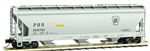 094 00 220 Bay ACF Centerflow Covered Hopper - Pennsylvania Rairoad