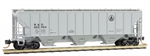096 00 160 3-bay covered hopper Baltimore & Ohio 602904 - N Scale