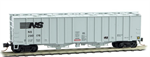 098 00 022 50' Airslide Hopper Covered Hopper - Norfolk Southern 290176