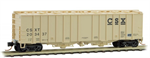 098 00 032 50' Airslide Hopper Covered Hopper - CSX 203437