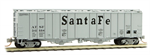 098 00 091 50' Airslide Hopper Covered Hopper - Atchison & Topeka Santa Fe 310594 - N Scale
