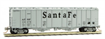 098 00 092 50' Airslide Hopper Covered Hopper - Atchison & Topeka Santa Fe 310679 - N Scale