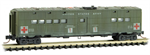 118 44 050 50 U.S. Army Hospital car - United States Army K-115 N Scale