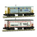 MTL N Operation LIfeSaver Caboose 2 Pk