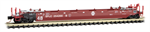 135 00 142 70 Husky Stack Well Car - Santa Fe 254200B - N Scale
