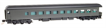 144 00 701 83' Observation car - heavyweight - Undec Business Car Painted
