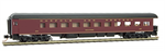144 00 730 MTL Heavyweight Business Car Balloon Roof - Norfolk and Western Roanoke 300 - N Scale