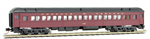 145 00 180 Heavyweight paired-window coach - Norfolk Western 755 N Scale