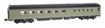 146 00 001 Heavyweight Diner Car - Undec Diner-Painted pullma