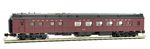 146 00 180 Heavyweight Diner Car - Norfolk & Western 1018 - N Scale