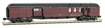 148 00 180 Heavyweight 70' Mail/Baggage - Norfolk & Western 1202 - N scale