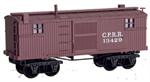 152 00 090 Old Time Caboose - Central Pacific 13429