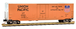 181 00 040 Micro-Trains 50' Standard box car Plug Door - Union Pacific 499030 - N Scale