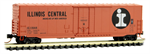 181 00 080 Micro-Trains 50' Standard box car Plug Door Illinois Central 11644 - N Scale